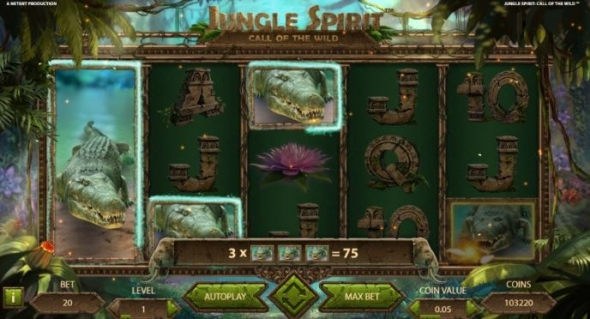 Hrací automat Jungle Spirit: Call of the Wild™