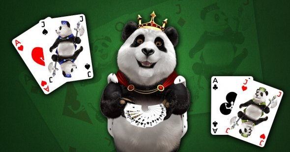 Royal Panda: získaj 210 € na black jacku